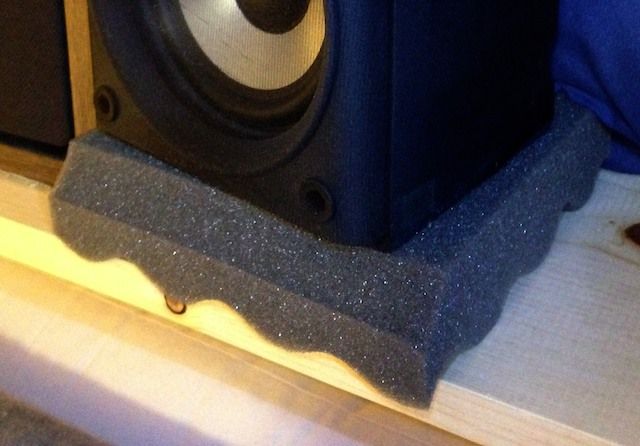 Monitor Speaker Isolation Shelves Are Not Your Friends