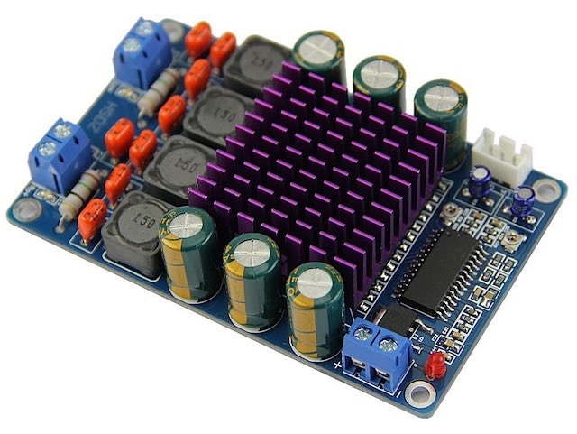 TK2050 single-transistor amp board